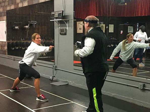 Swordplay LA Private Fencing Lesson, Beginners