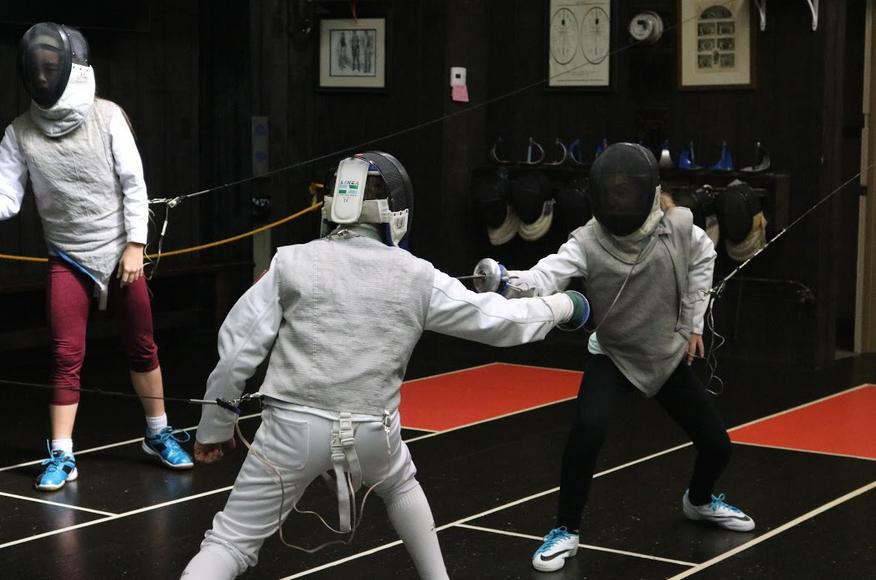 Swordplay LA Foil Fencing, Boys And Girls