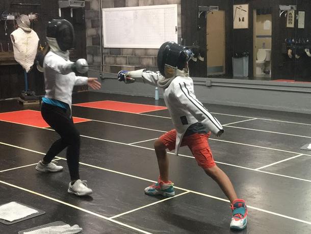 Swordplay LA fencing lessons for kids