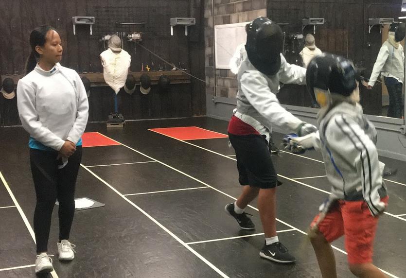 Swordplay LA fencing classes for kids and teens