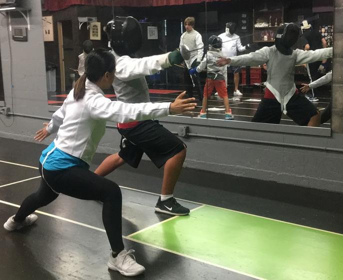 Swordplay LA fencing lessons for teens