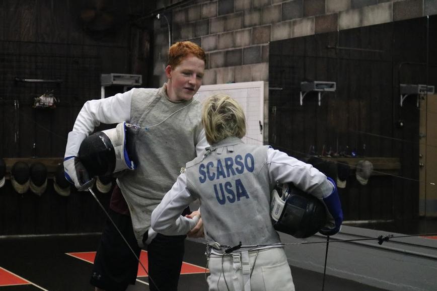 Fencing, good sportsmanship