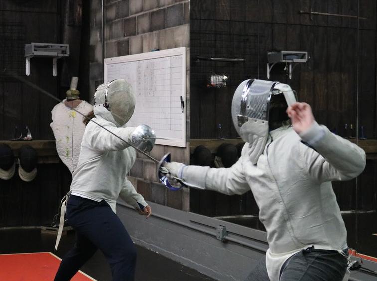 Sabre fencing for teens at Swordplay LA fencing school