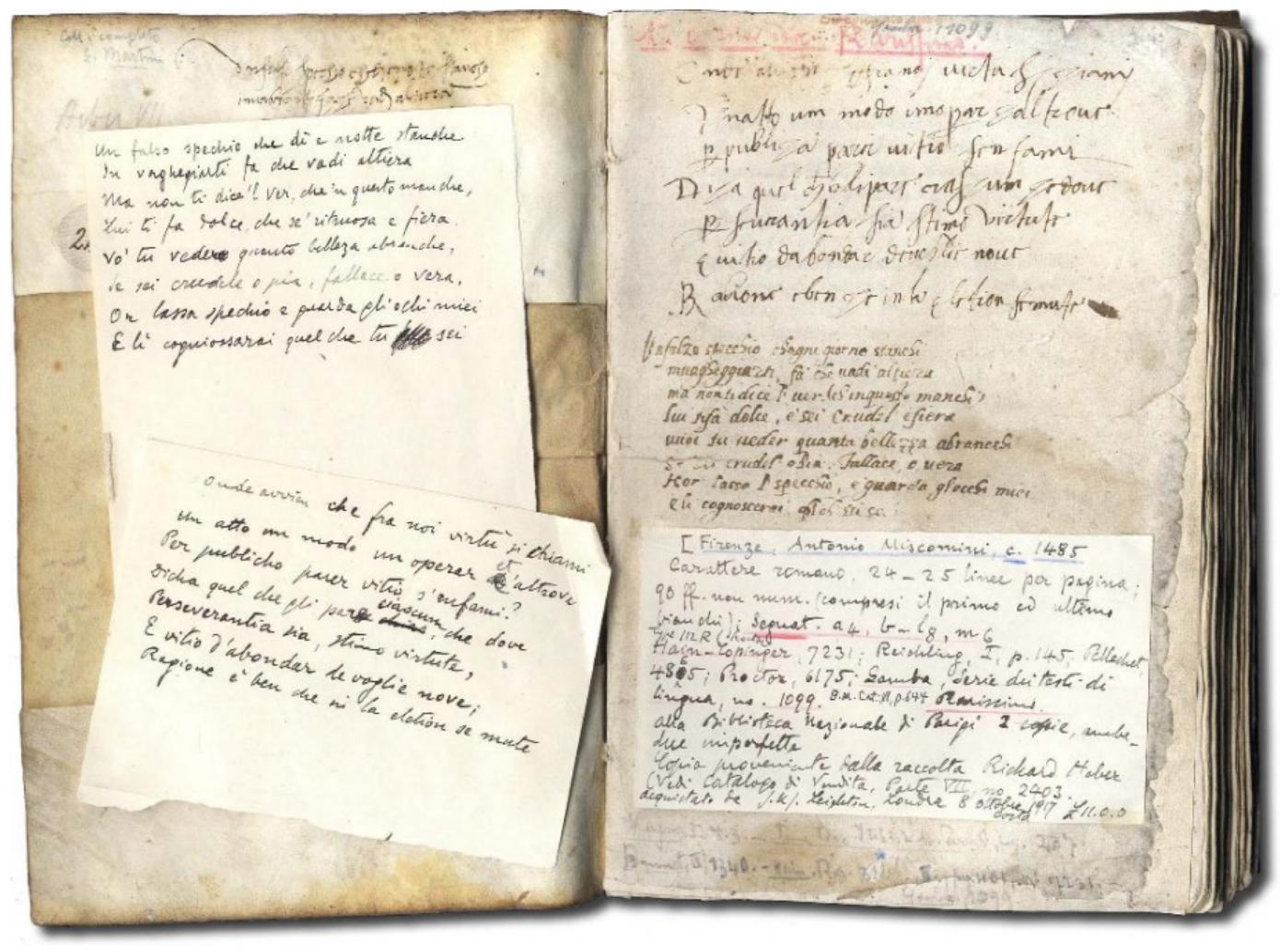 FORESI, Bastiano.  Libro chiamato Ambizione . (Florence, Antonio di Bartolomeo Miscomini, ca. 1485).