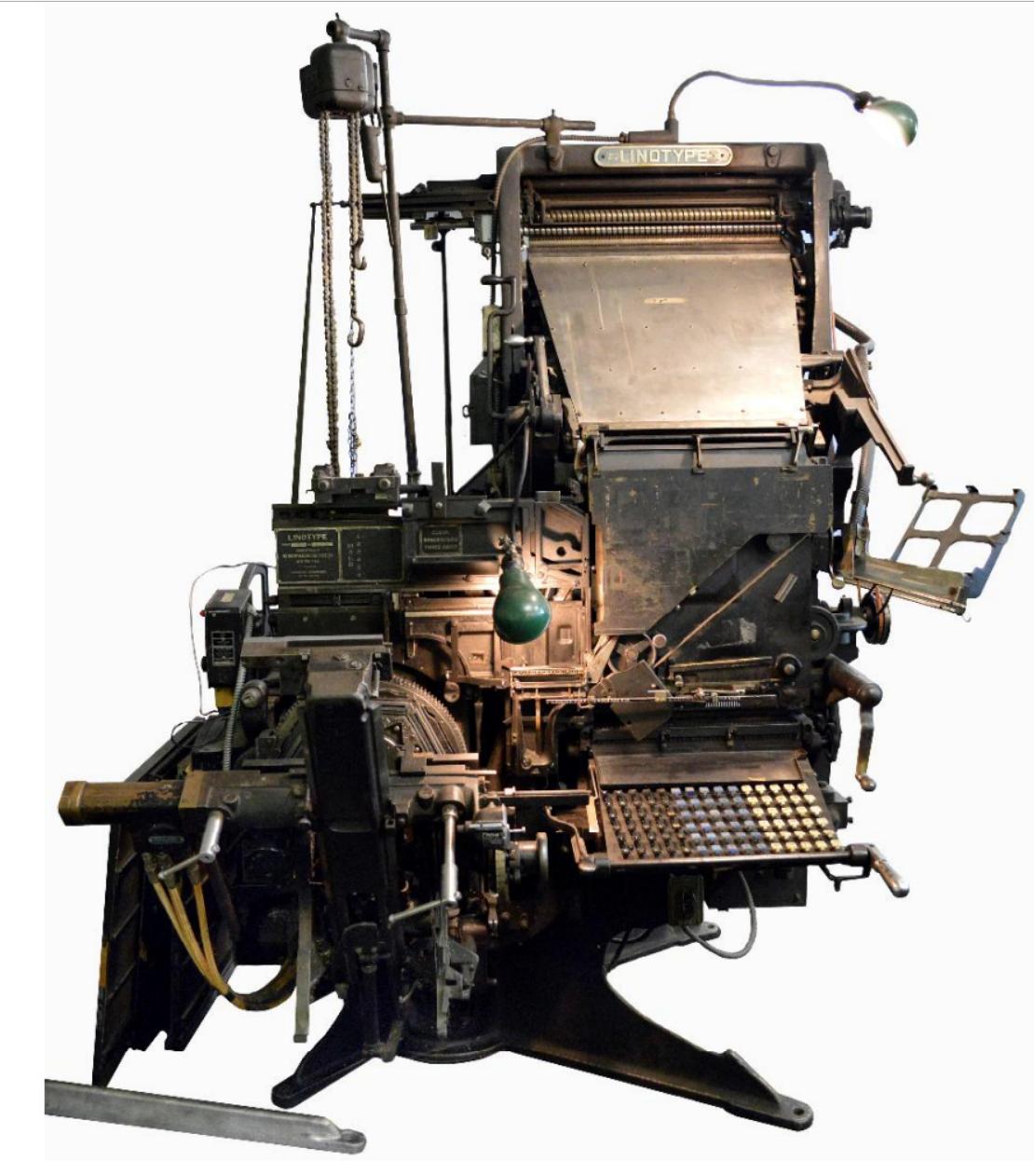 Linotype Model 31   Linotype Company, late 1940s