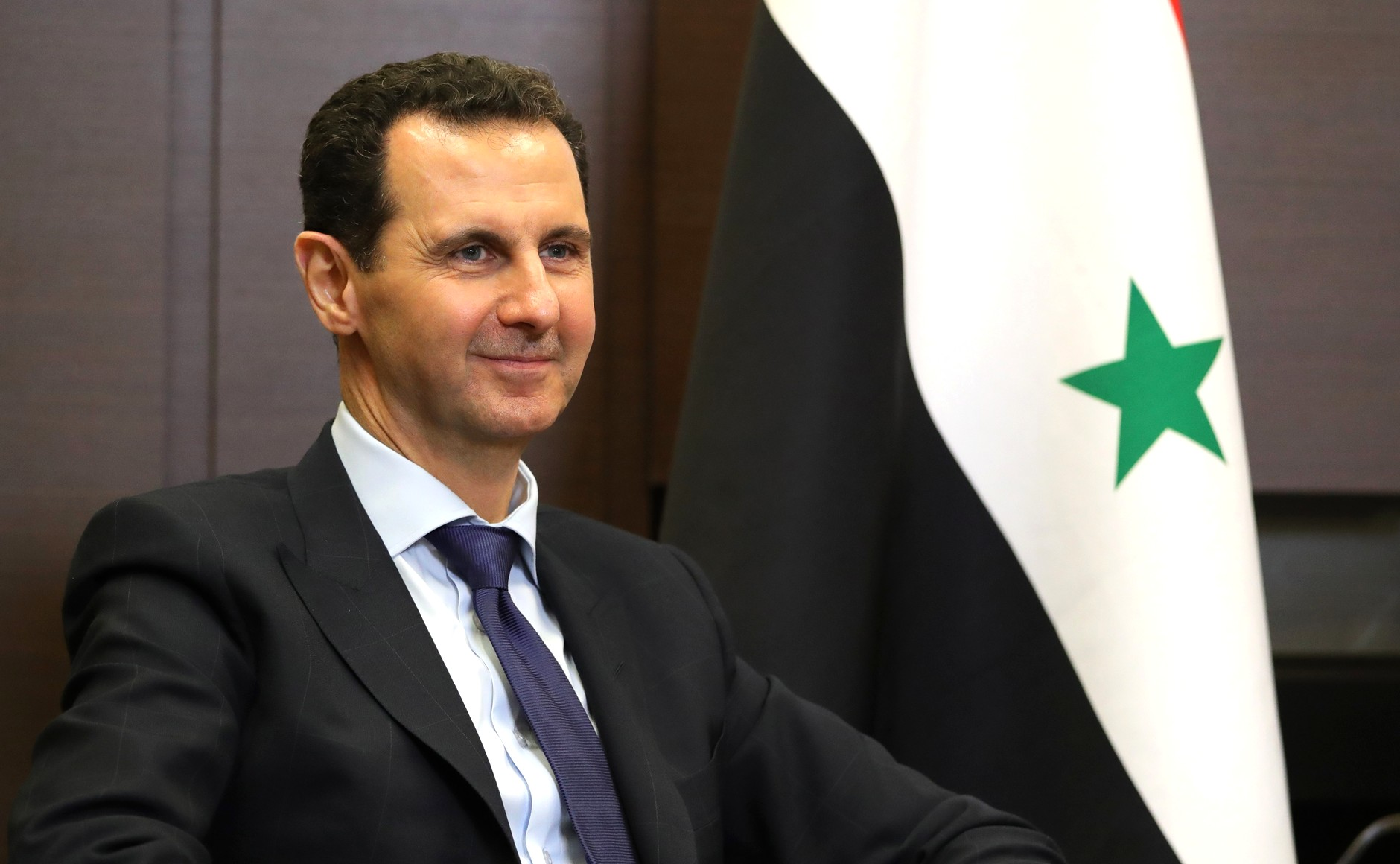 Moscow, Russia, May 17th 2018. PICTURED:  Syrian President Bashar al-Assad at the Kremlin  photo credit www.kremlin.ru