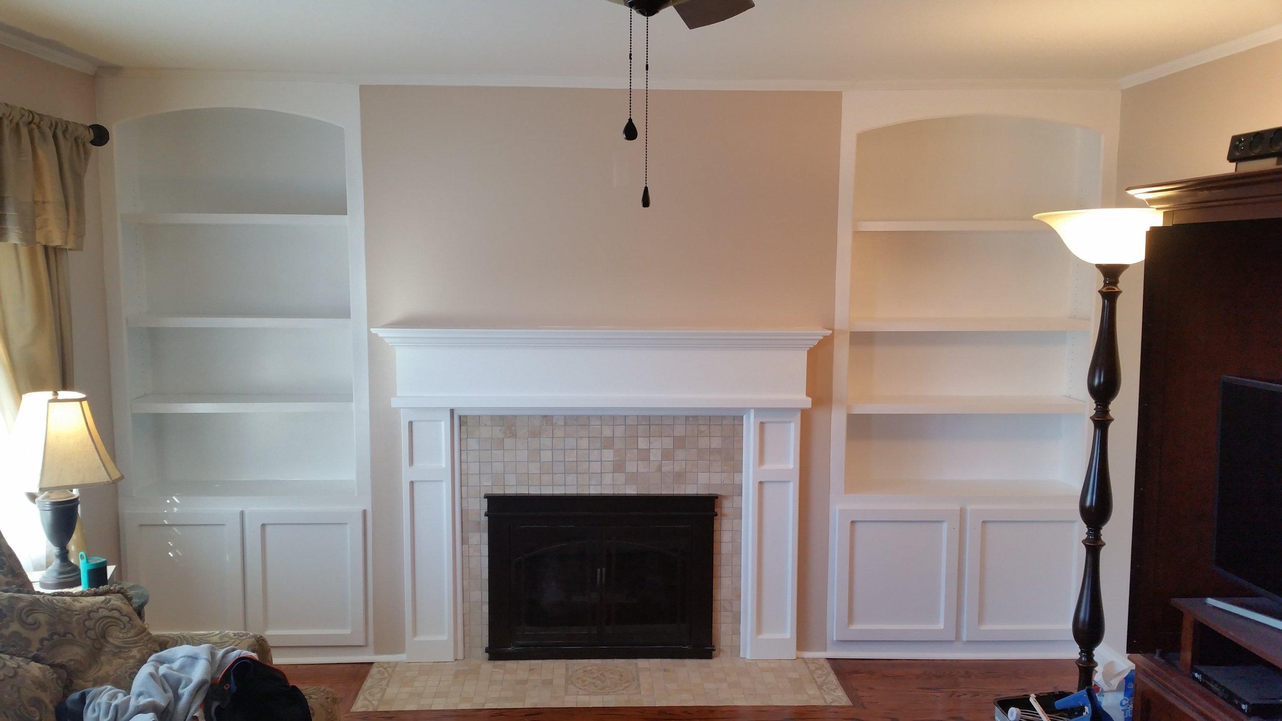 Living Room Makeover After