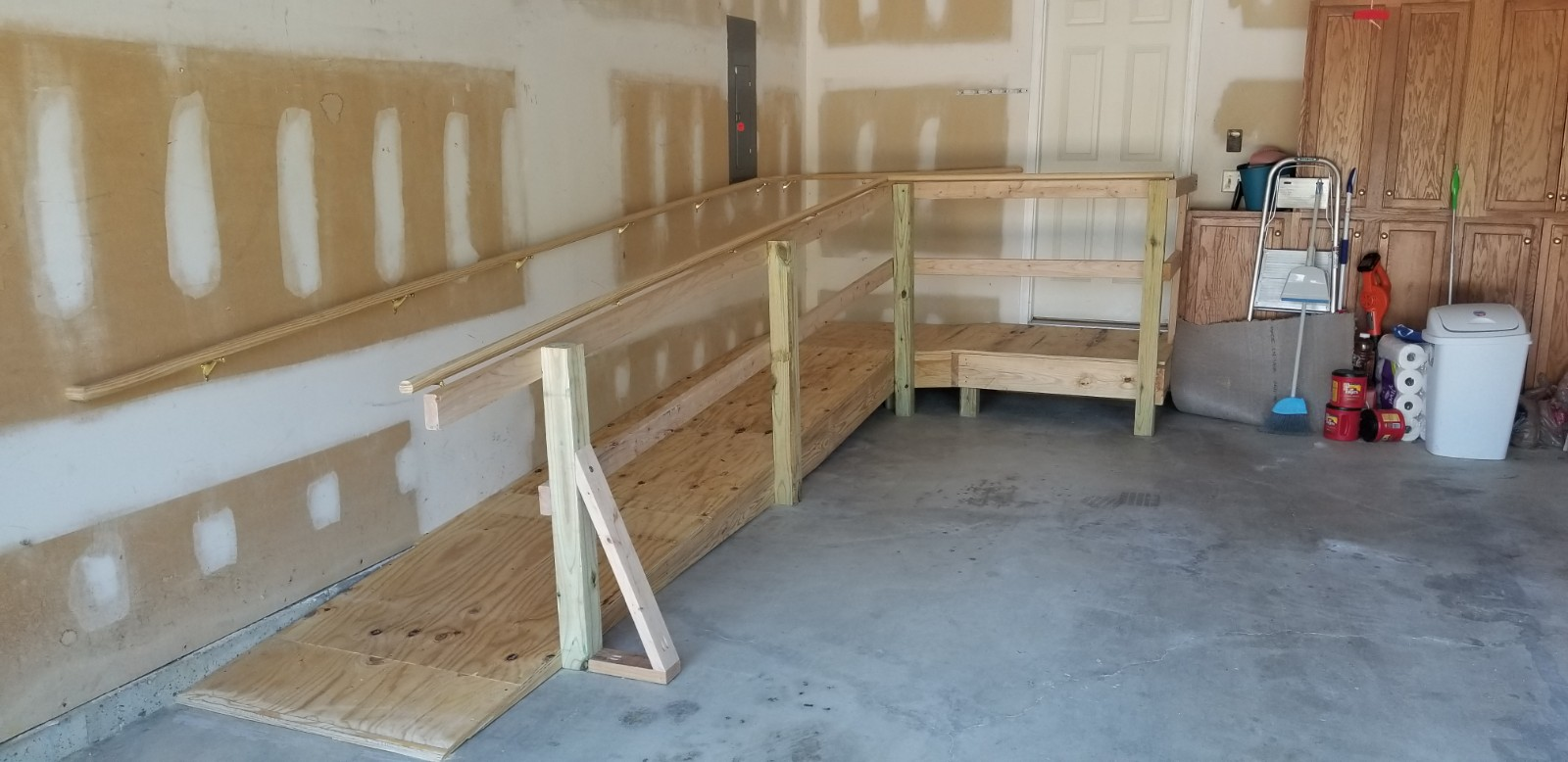 Accessible Ramp Added into Garage