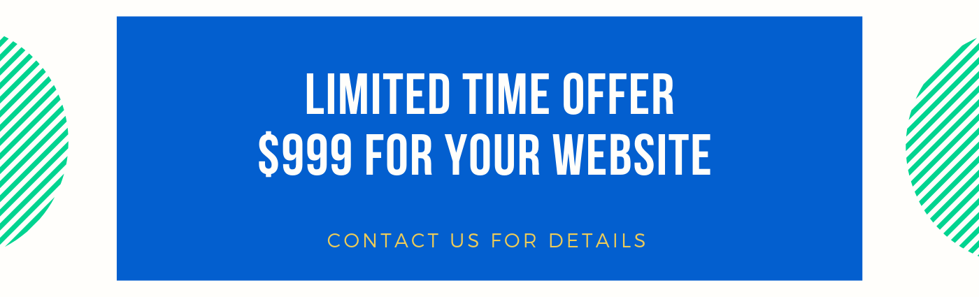 Limited Time offer $999 for your Website KWK Studio