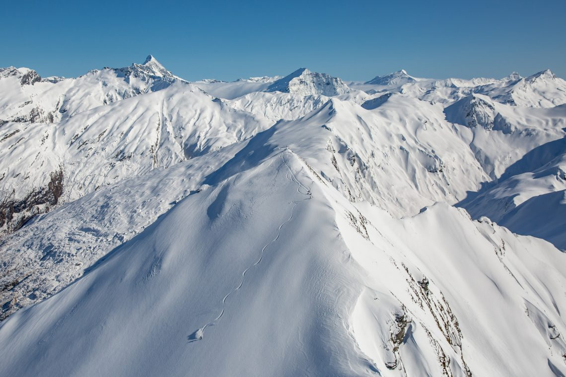 Heliskiing in New Zealand offers endless terrain for intermediate to advanced skiers and boarders.