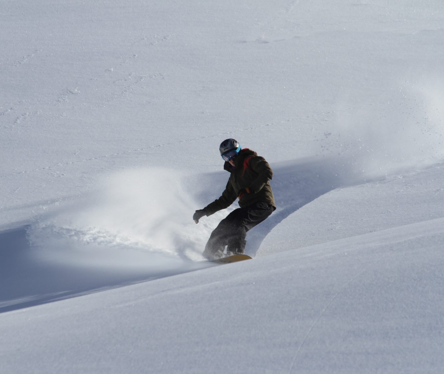 No queues or untracked terrain out here in the backcountry of NZ…