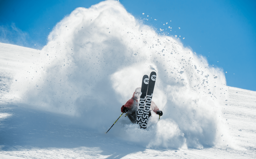 Powder skiing simplified on a pair of fat skis..