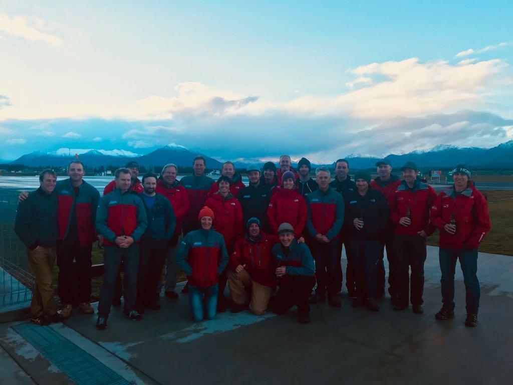 The 2018 Southern Lakes Heliski guiding team say THANK YOU!!!