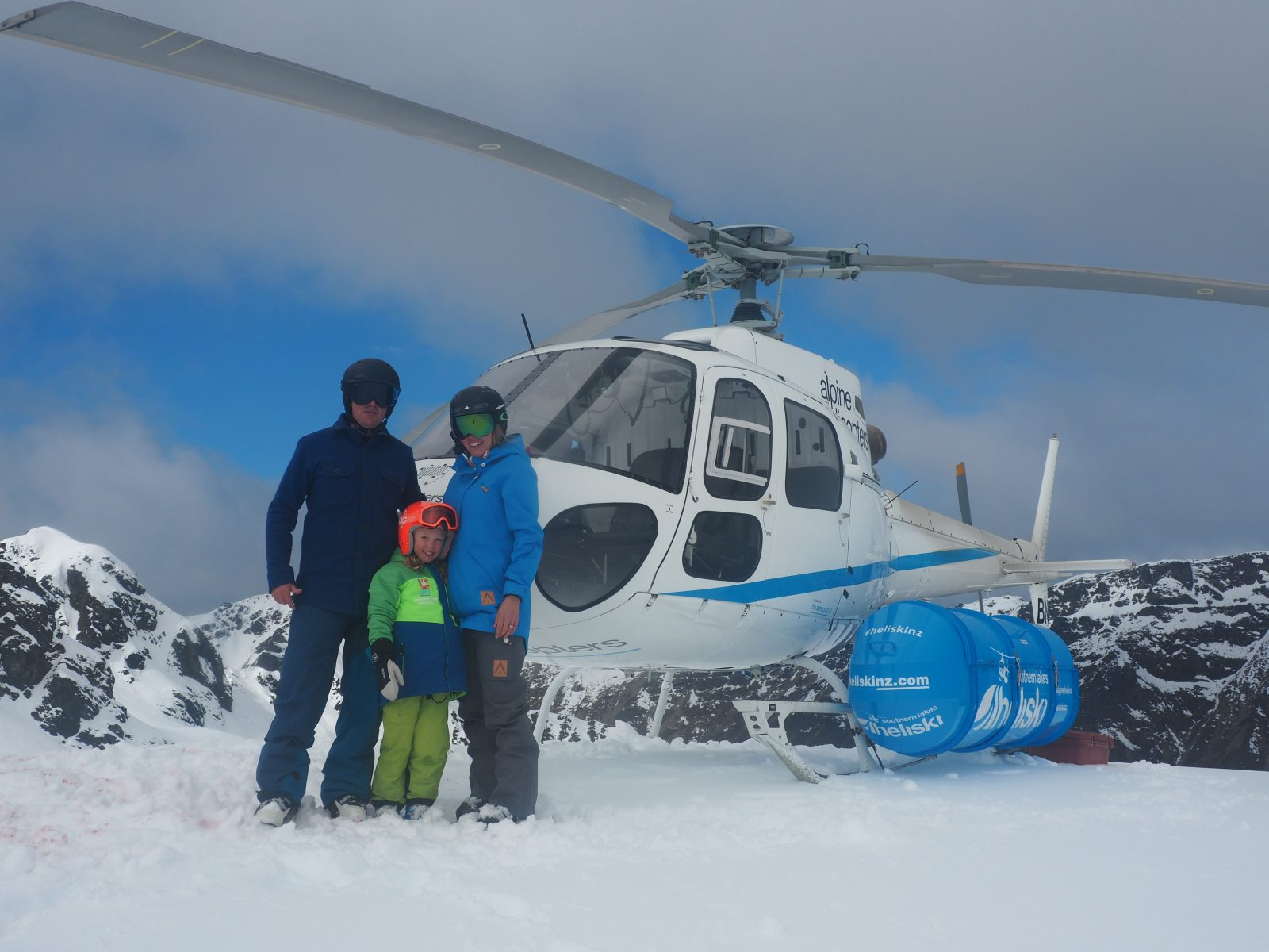You are never too young to heliski….