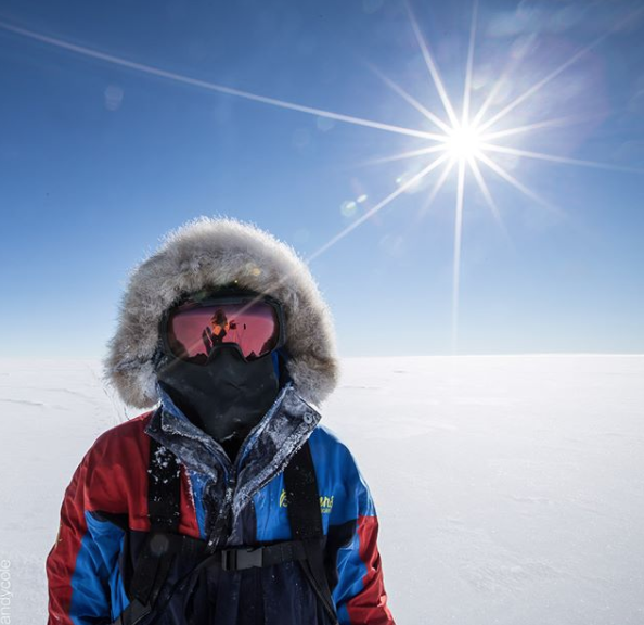 Staying cool in Antarctica