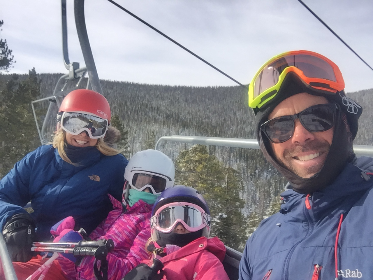 Tom & Family getting some vertical gains