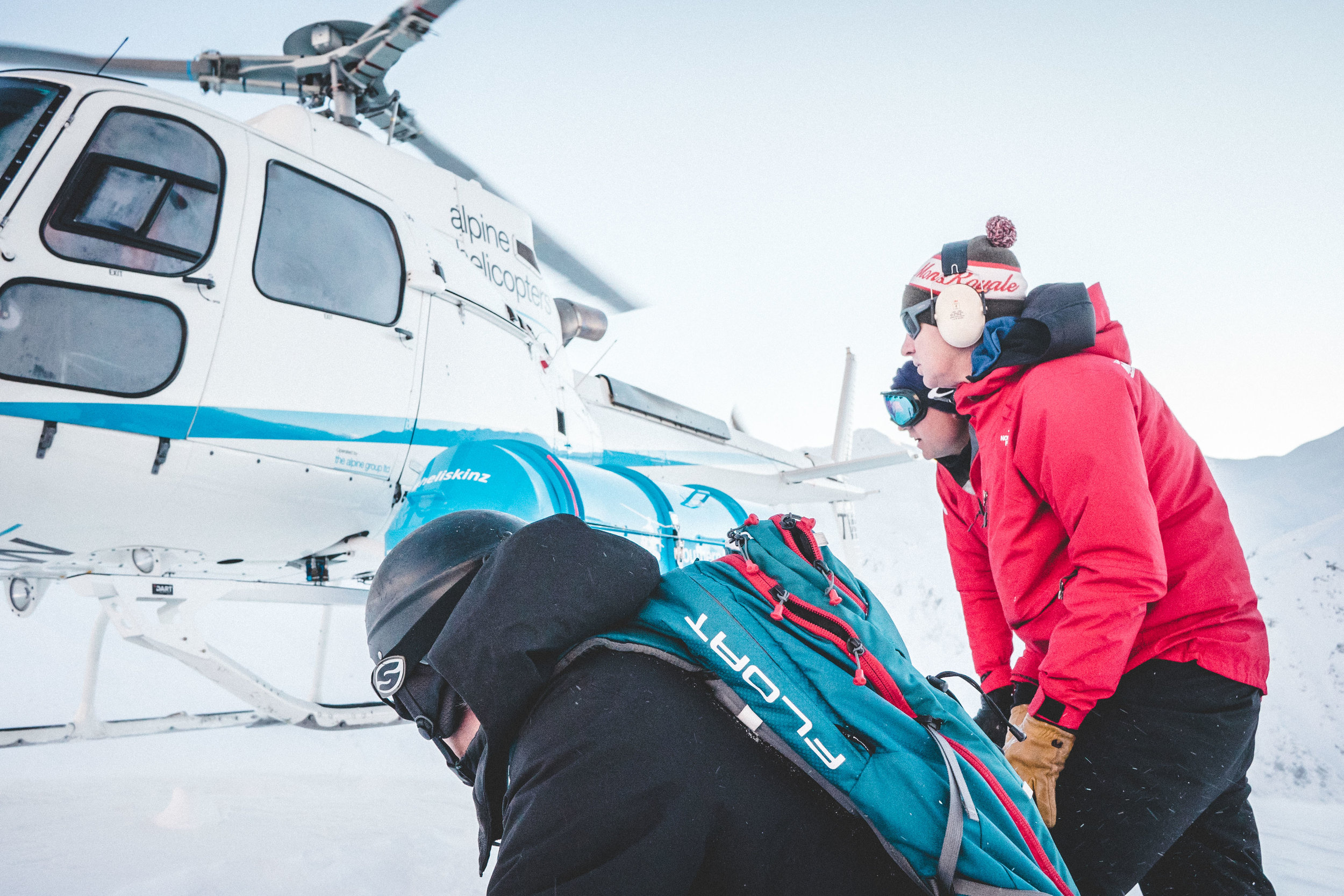 Ski. Heli. Rinse & repeat.