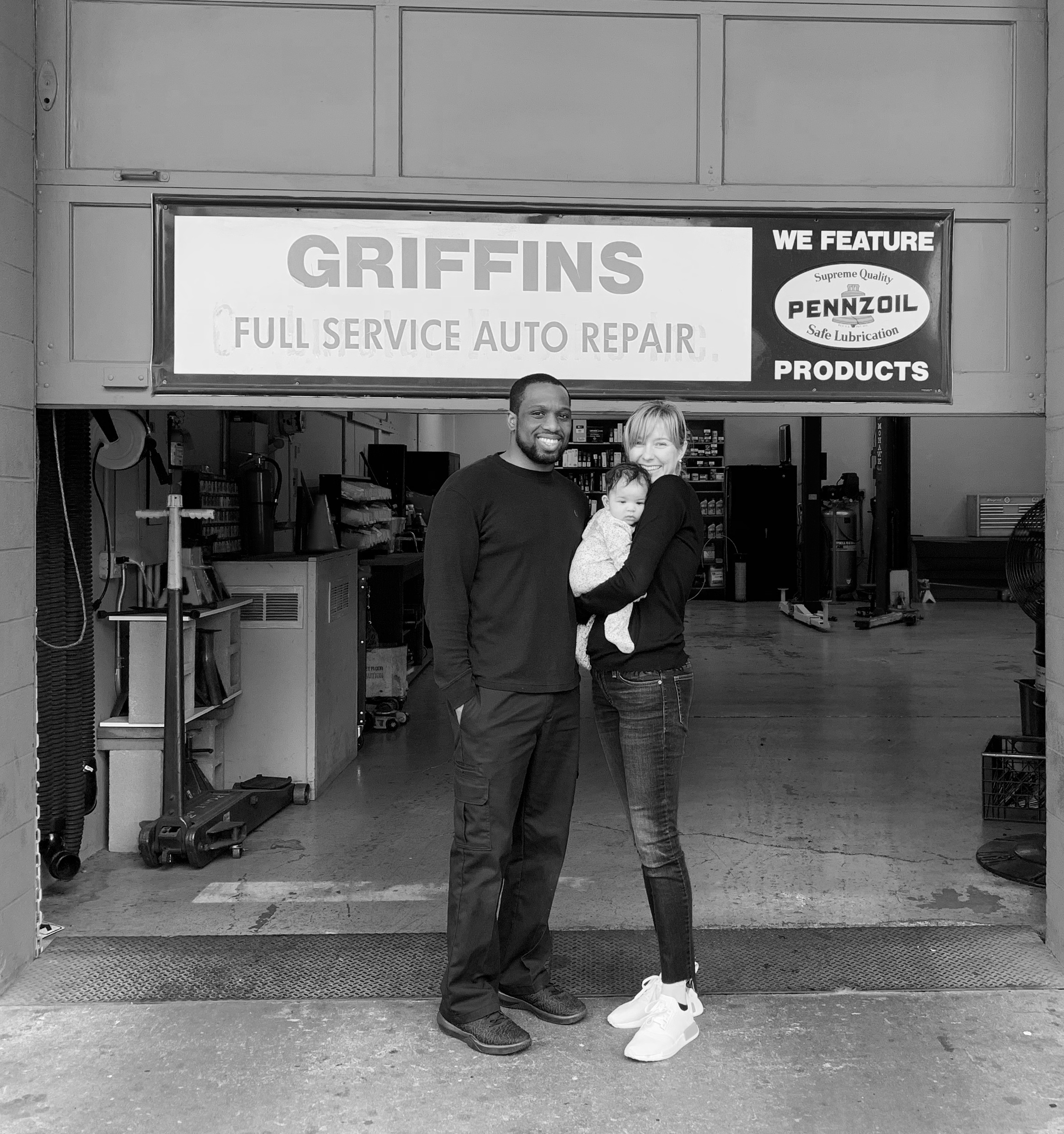 - Since its establishment 55 years ago, Griffin's Auto Repair in Mountain View has offered residents of San Mateo and Santa Clara County outstanding auto repair services. In fact, this repair shop is number one for factory maintenance and oil changes in all of Mountain View, voted Best of Mountain View every year from 2011 to 2017.Dennis Griffin and his team have offered exceptional automotive repair services, and over the years have cemented their reputation for quality and timely work. On March 1, 2019, Dennis Griffin handed the keys over to Dennis Muaka and is staying on as his mentor. They are dedicated to maintaining the same high standards Griffin's Auto Repair customers have experienced for over half a century.Dennis M. has over 8 years of experience in the industry, having worked at several independent shops and a dealership. He brings his exceptional diagnostic skills to Griffin's Auto Repair, making your service with him and his team one you can trust. Tune ups, oil changes, inspections, brake jobs, fluid flushes are all done fast and accurate by the team at Griffins. Alignments, tire balances and replacement tires are all done in house now to get you in and out as fast as possible.