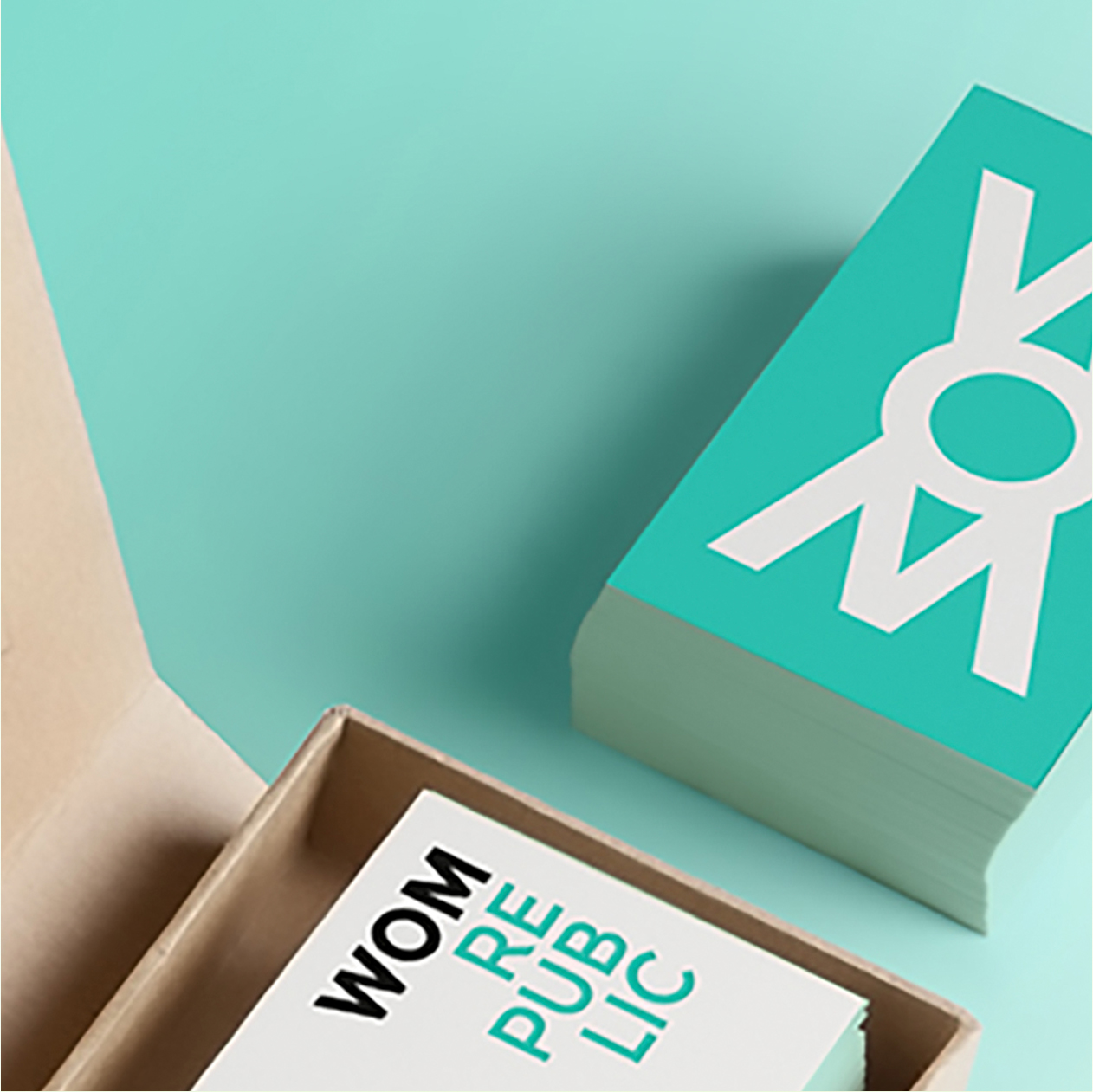 New Identity for WOM - The time we created an identity for pioneering a Market Research brand…