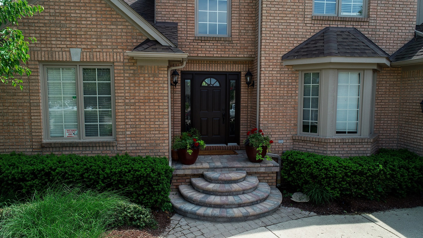 Copy of Landscape edging for brick pavers in Troy, MI