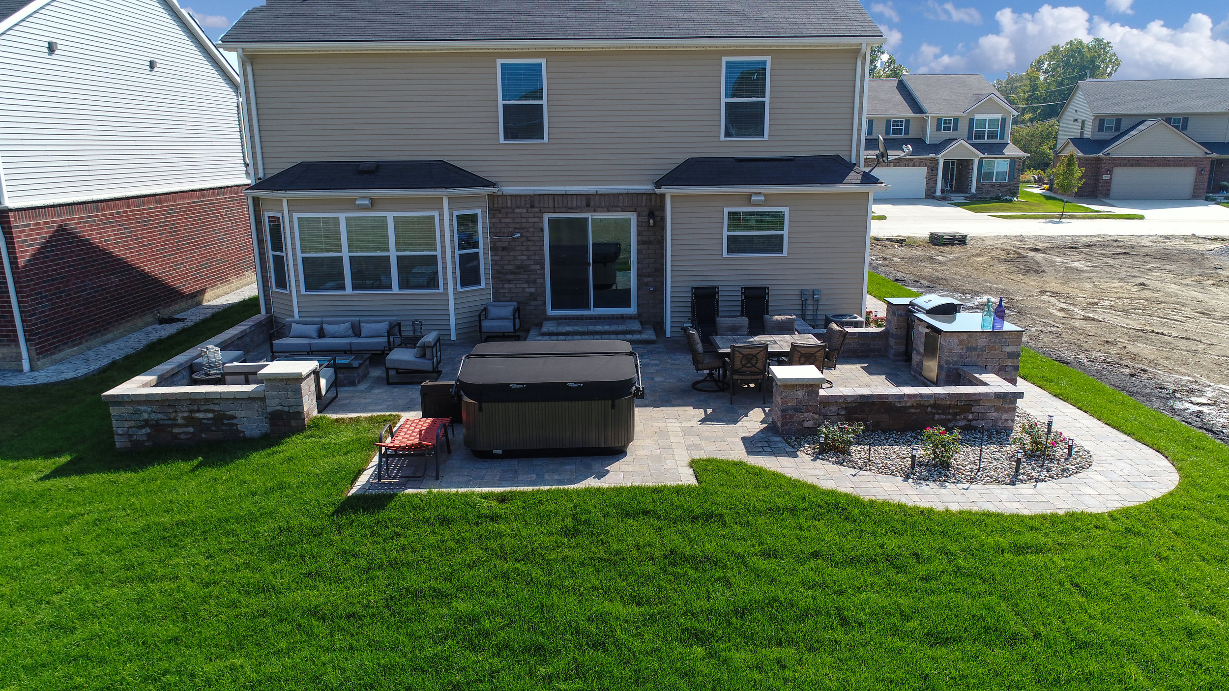 Shelby Township, Michigan top quality patio pavers