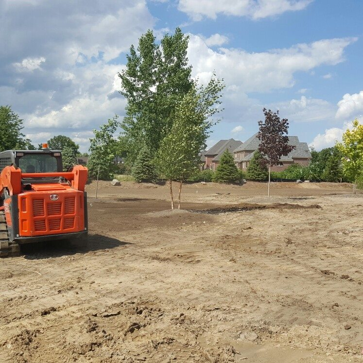 Grading and landscape design in  Troy, MI