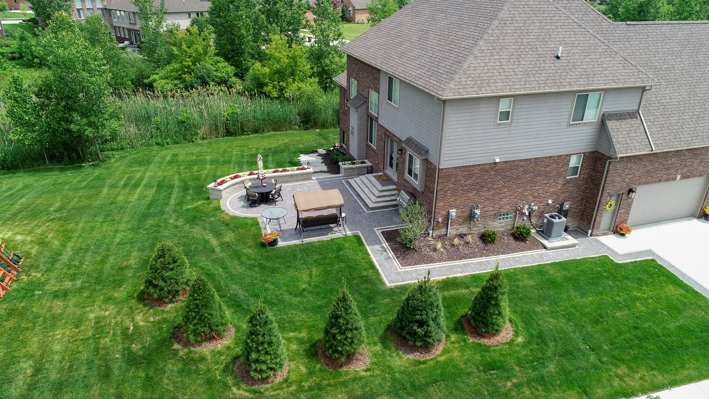 Stunning patio pavers in Rochester Hills, MI