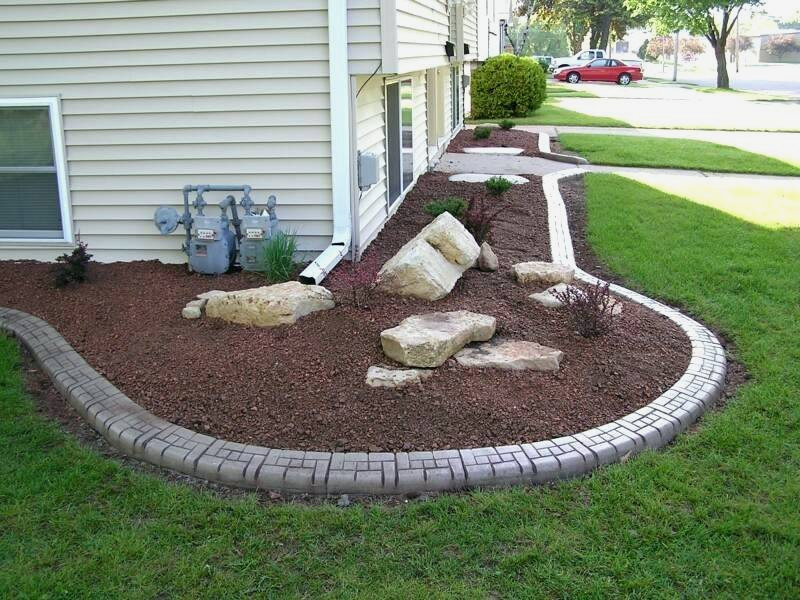 Rochester Hills, MI top quality landscape edging