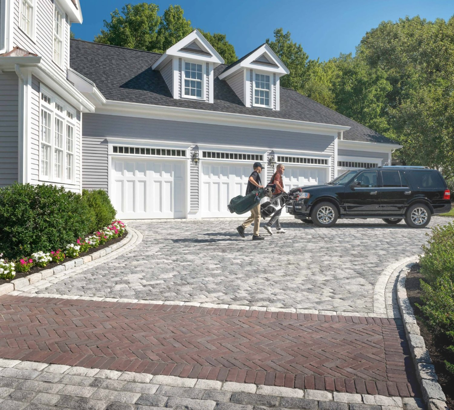 Top brick and patio pavers in Troy, MI