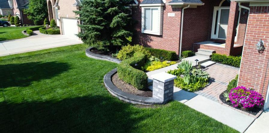 How Landscape Design Adds Value to Troy, MI Homes