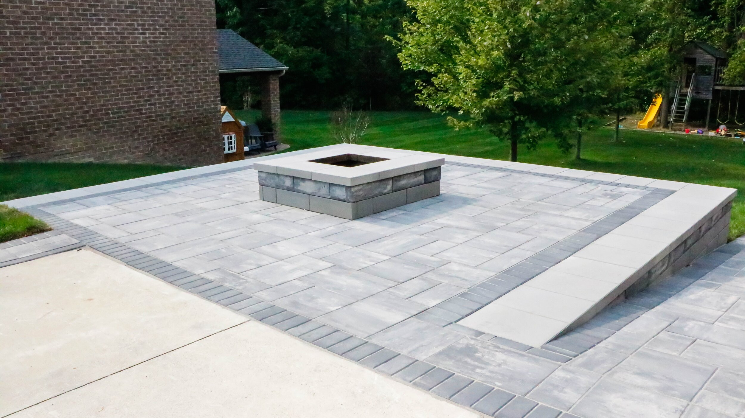 3 Types Of Patio Pavers Well Suited To, Large Paving Stones Patio