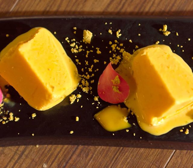 Always leave room for desert! Our Mango Kulfi is calling your name out!⁣
