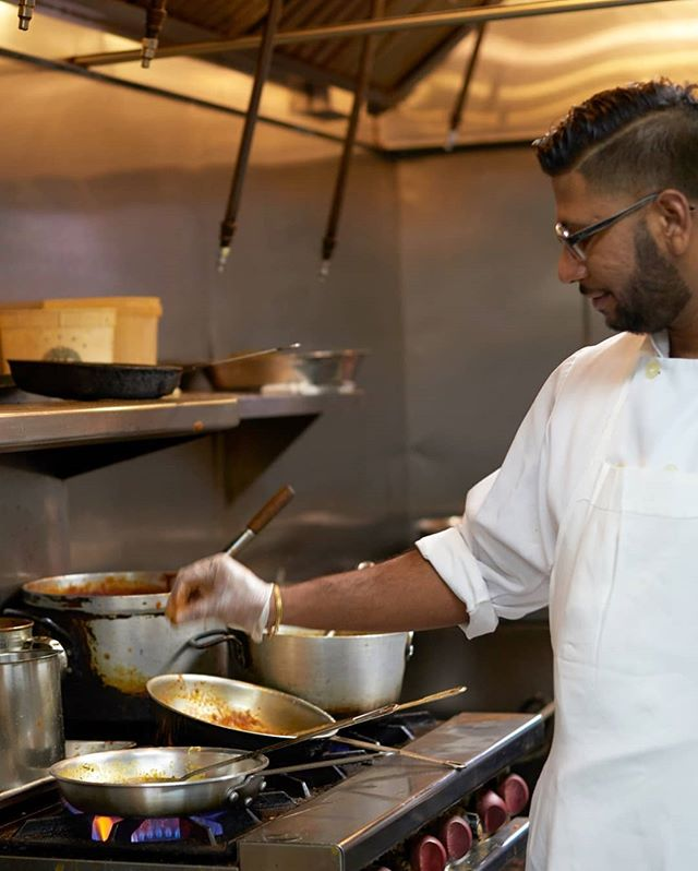 Our chef is always cooking up something delicious! 
