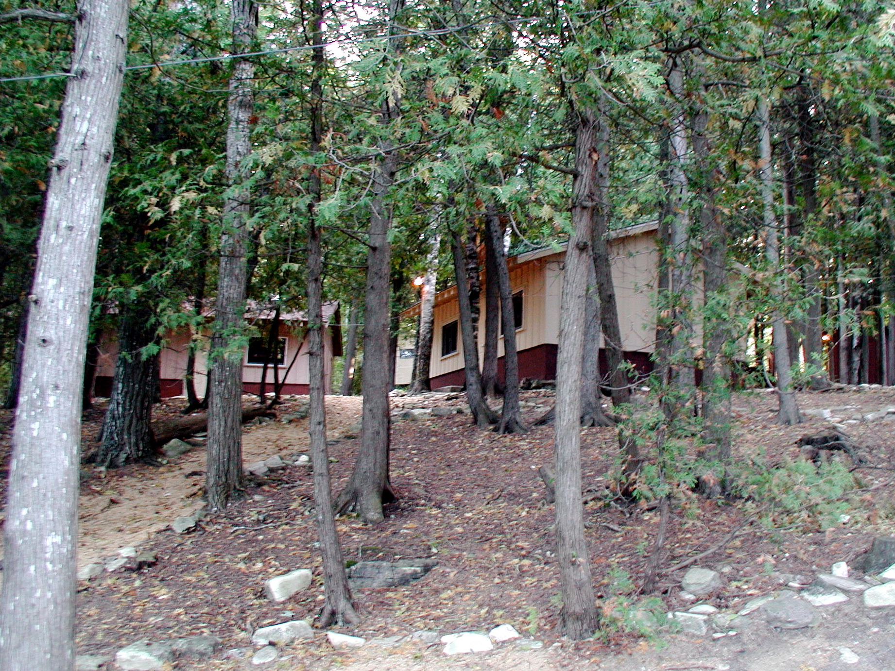 Rustic Summer Staff Cabins
