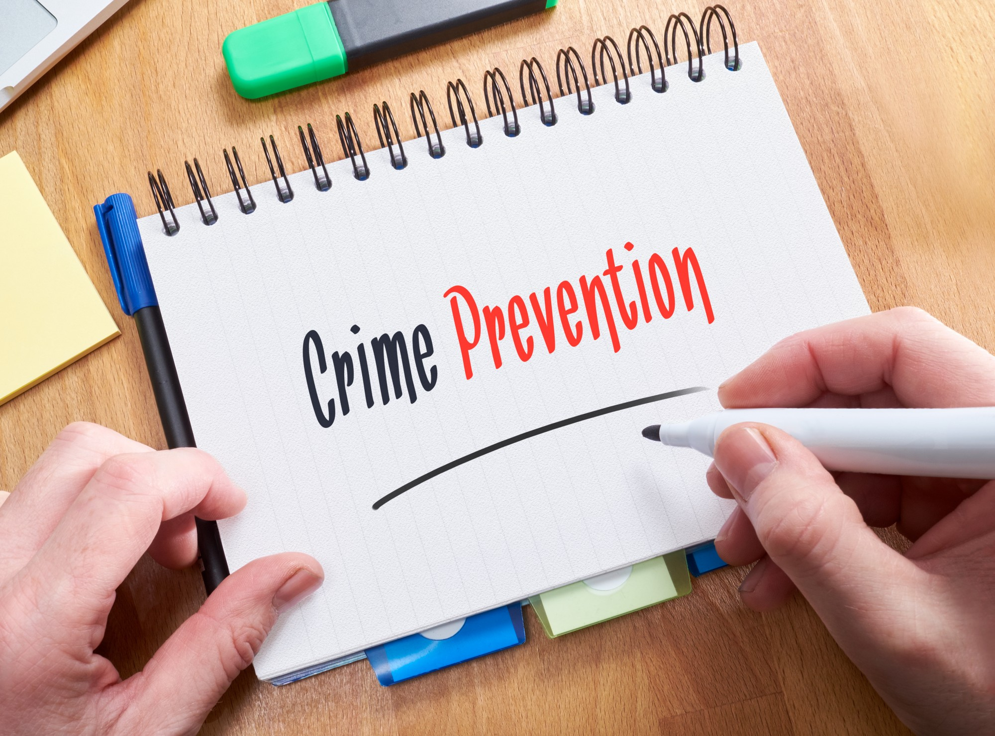 Download your guide to crime prevention here.