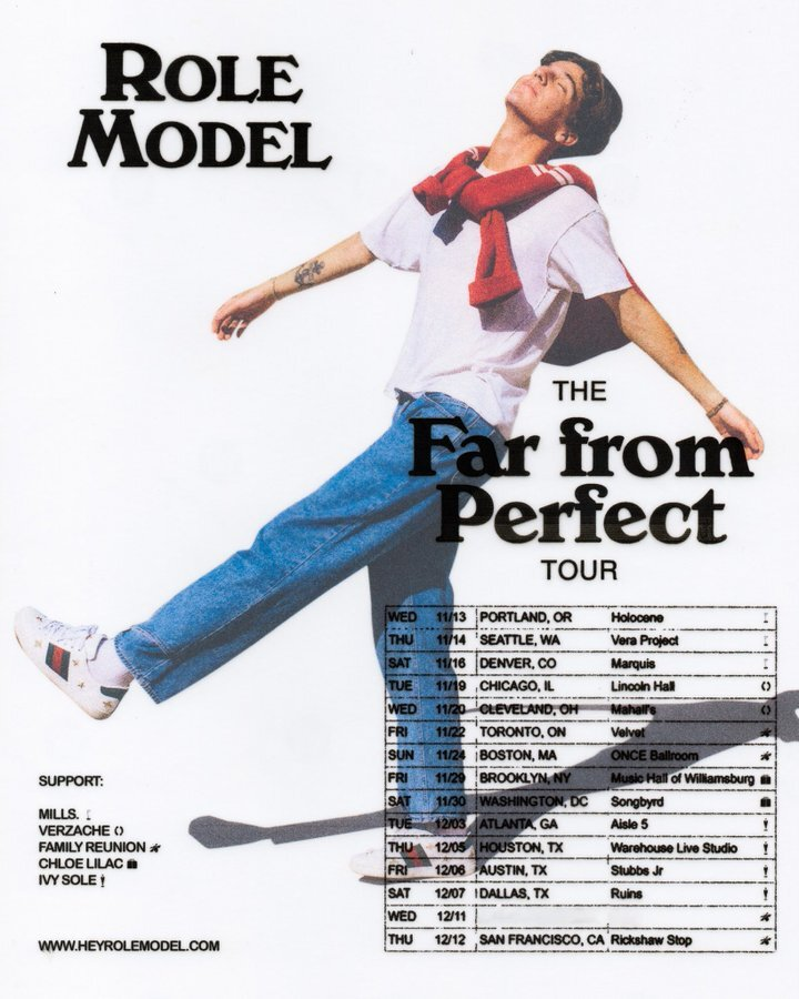 ROLE MODEL Far From Perfect Tour - November 13-December 12, 2019 (upcoming)
