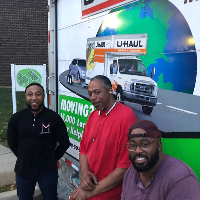 @mercymovers does it again. 😃Another customer happily relocated! #dmvmovers #wemovethedmv