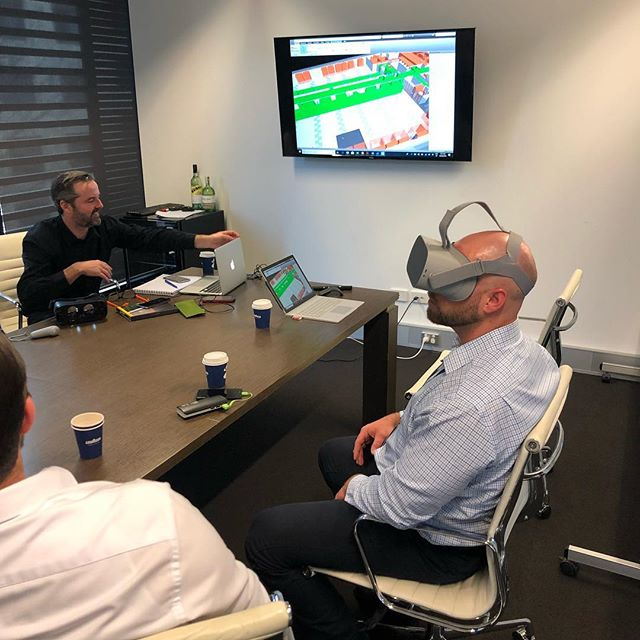 Had a good session with StartVR looking into the future of VR technology and how we can implement into project delivery to assist clients. #technology #vr