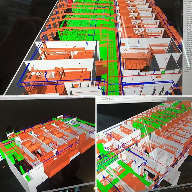 Actively using BIM on projects to assist not only during construction but also for Facilities Management. #building #cad #facilitiesmanagement