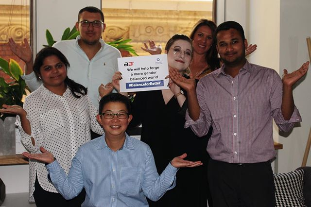 Happy International Women's Day! This is our Melbourne team, who all wanted to show their support for the initiative. 💜✊ There's is a long way to go before society reaches true equality, but events like #IWD do so much to bring awareness and publicity to the struggle.  @_area3_ are proud participants, and integrate values of equality into our every day business practices!