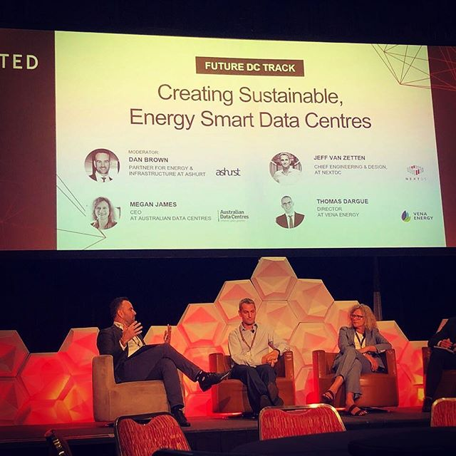 @charlespenny365 had a great first day at the ADAPT Edge Event on the Gold Coast. It's really good to hear how Data Centre companies are making conscious efforts towards sustainability 🌳