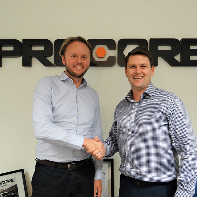 @_area3_  Managing Director Charles Penny and Tom Karemacher, VP of APAC at @procoretech met last week to kick off our partnership. Procore's construction and Project Management tools will help optimise and streamline our processes, enabling us to deliver more efficient and effective projects.