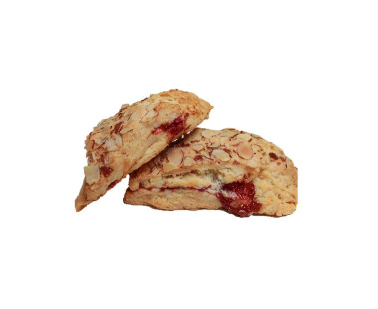 Raspberry Almond Scone