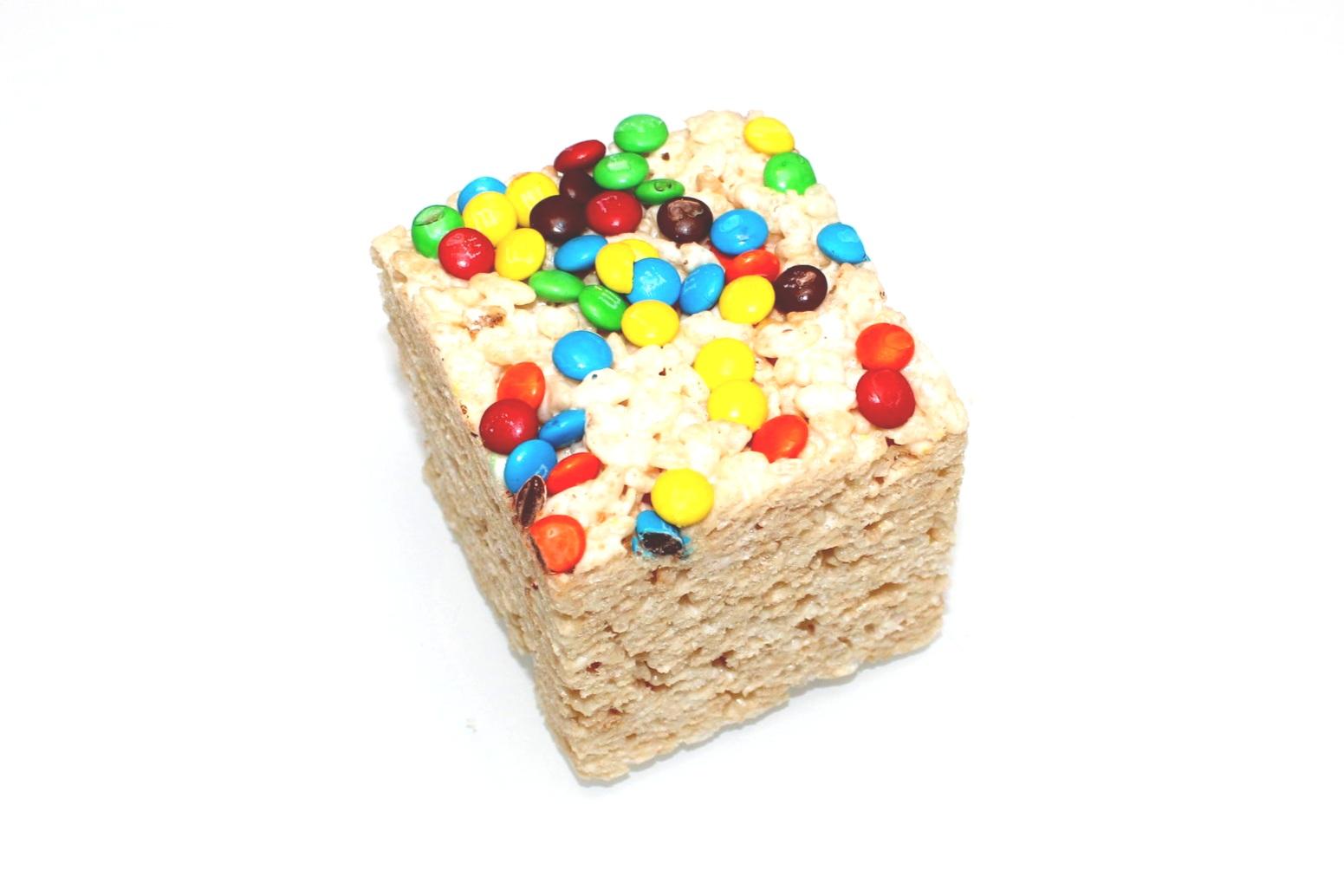 m&m Rice Crispy