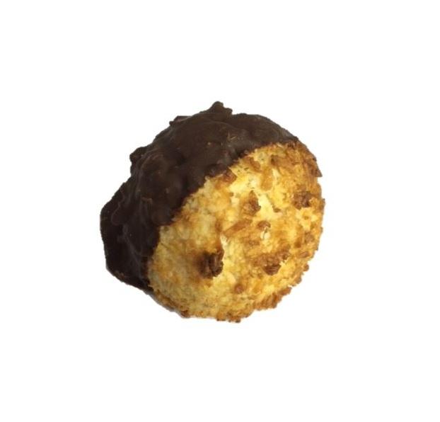 Chocolate Dipped Macaroon