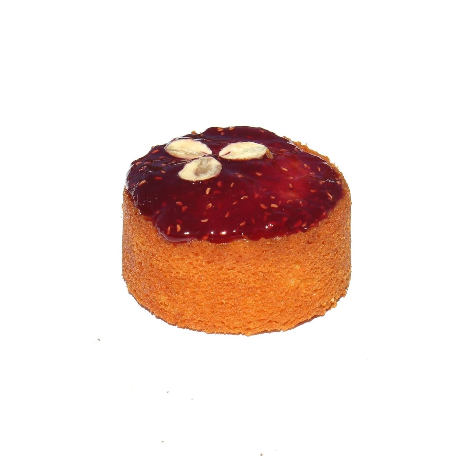Petite Raspberry Almond Torte