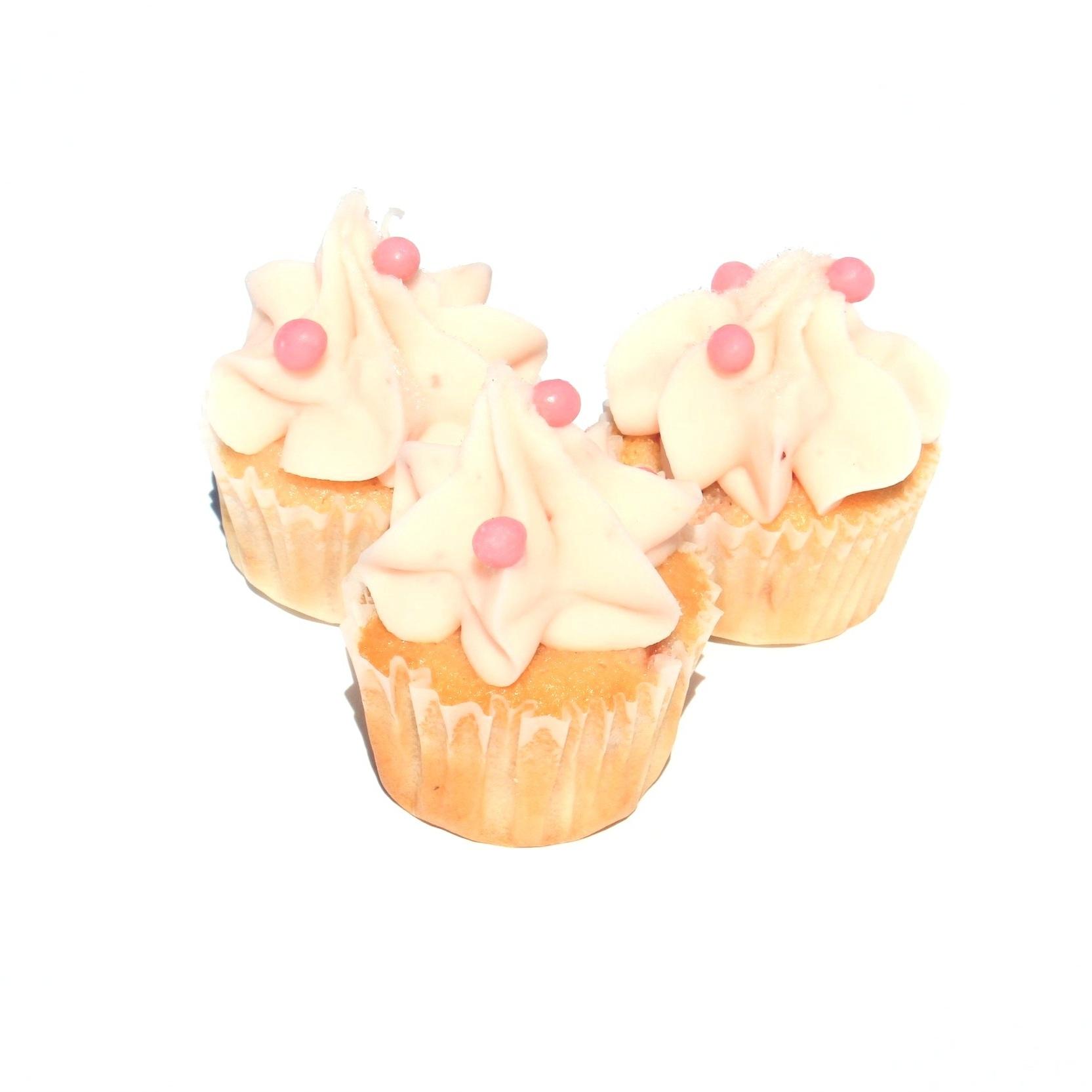 Mini Berry Bite Cupcakes