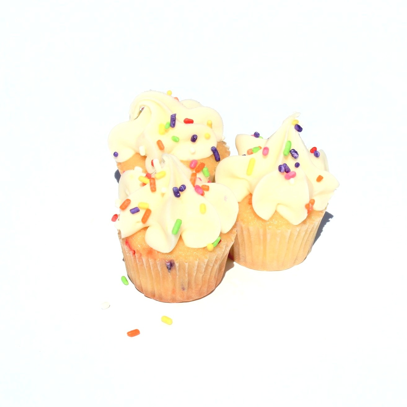 Mini Fiesta Cupcakes