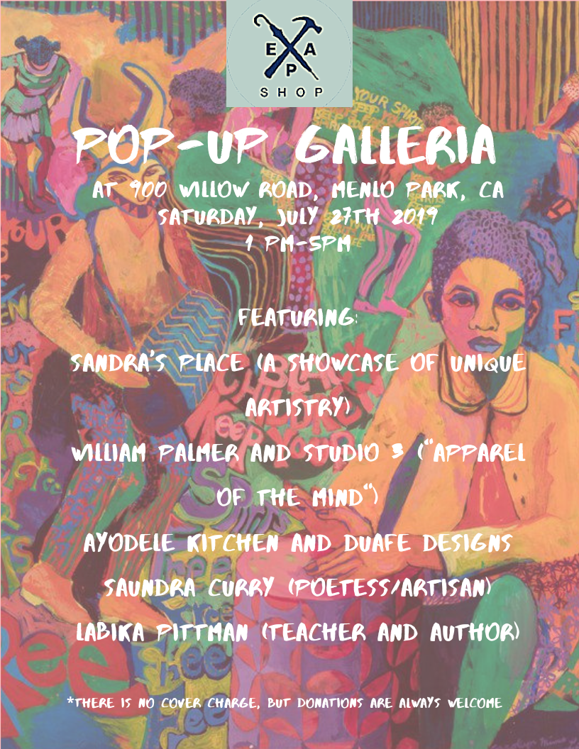 Hey everyone! Check out our pop-up galleria being held on Saturday, July 27. There's gonna be artists from different backgrounds sharing their thoughts and conveying their views through clothes, poetry, and so much more!! Be sure to bring your friends and family so that they won't miss this momentous occasion🎊🎊🎉🎉🎉