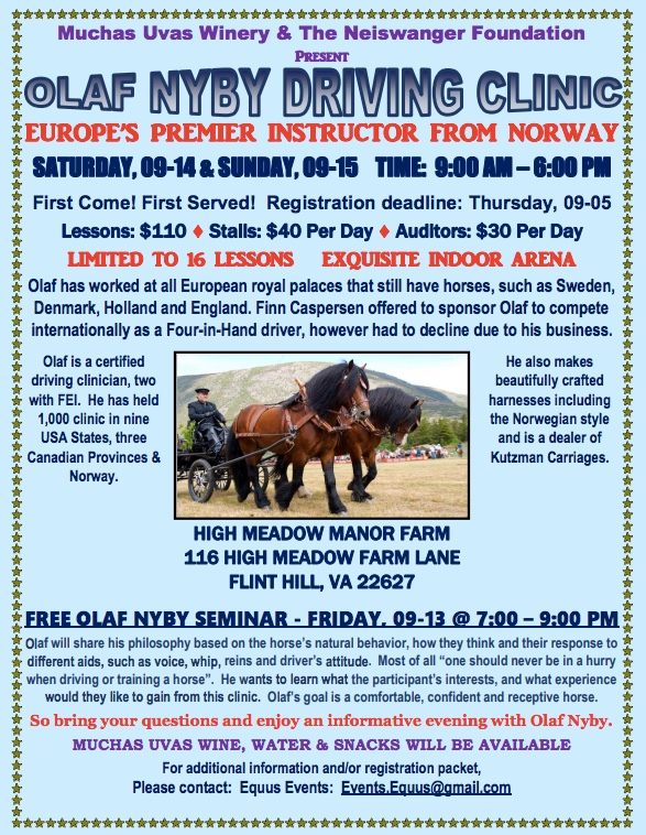 For registration, please contact    events.equus@gmail.com